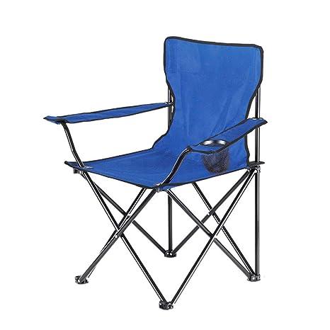 WENYAO Silla de Camping, Silla Plegable portátil para ...