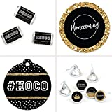 Big Dot of Happiness HOCO Dance - Homecoming Decorations Favor Kit - Party Stickers & Tags - 172 pcs