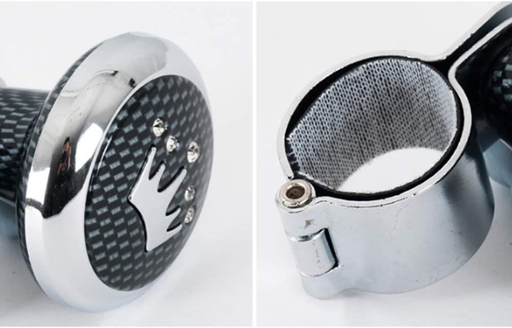 Universal Car Steering Wheel Spinner Knob Booster Tool Power Handle Ball Steering Wheel Knob