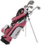 Tour Edge HT Max-J Set (Junior's, Ages 9-12, 7 Club Set, Right Handed, with Bag, Pink)