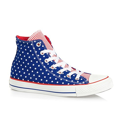 Converse  Chuck Taylor All Star Femme Plus Star Hi,  Damen Sneaker Rot - rot
