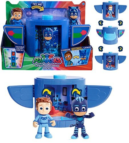 Just Play PJ Masks - CATBOY TRANSFORMING PLAYSET - Perfect Choice for Every PJ Masks Fan