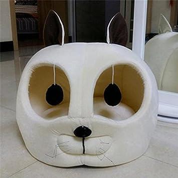 Cat Head Shaped Pet Dog Bed Soft Sofa Mat Pet Nest Sleep Bag Cushion For Puppy