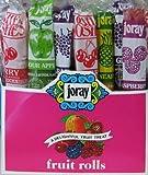 Joray Fruit Rolls 1 oz/roll 48 CT Box. Kosher