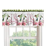 Collections Etc Hummingbird Wreath Curtain Valance For Sale