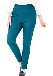 09bb921ae8c ... Stretch Cotton Printed Legging.  21.68 -  29.99 · Woman Within Plus  Size Tall Fineline Denim Jegging