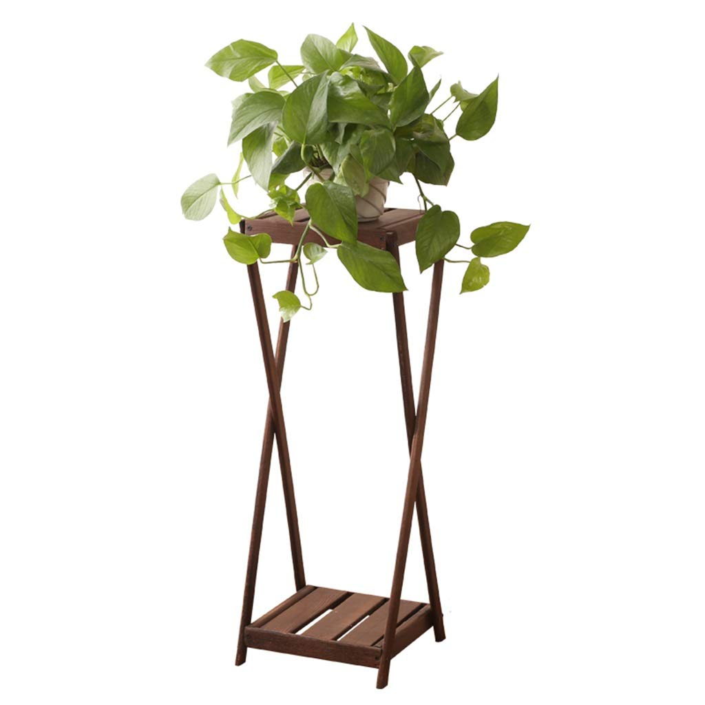 G-ZWJHLCW Multi-Functional Flower Stand Plant Frame Living Room Decoration Frame Wooden Flower Display Suitable for Study Balcony Bedroom