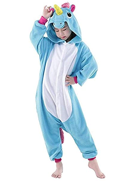 iSZEYU Kids Onesie Pajamas Halloween Costumes Boys Girls Animal Children  Onsie 3771a7532506