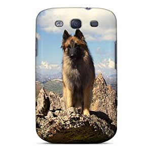 Mwaerke HnXIIfu4618vUHiV Case For Galaxy S3 With Nice Shepherd On Mountain High Appearance