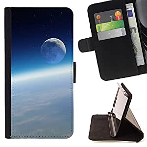 DEVIL CASE - FOR Samsung Galaxy S5 Mini, SM-G800 - Space Planet Galaxy Stars 56 - Style PU Leather Case Wallet Flip Stand Flap Closure Cover