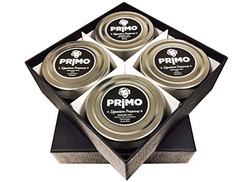 Signature Preserves Primo Sample the Collection Gourmet Gift Set, Preserves - 4, 4.5 (Gourmet Cherry Jams)