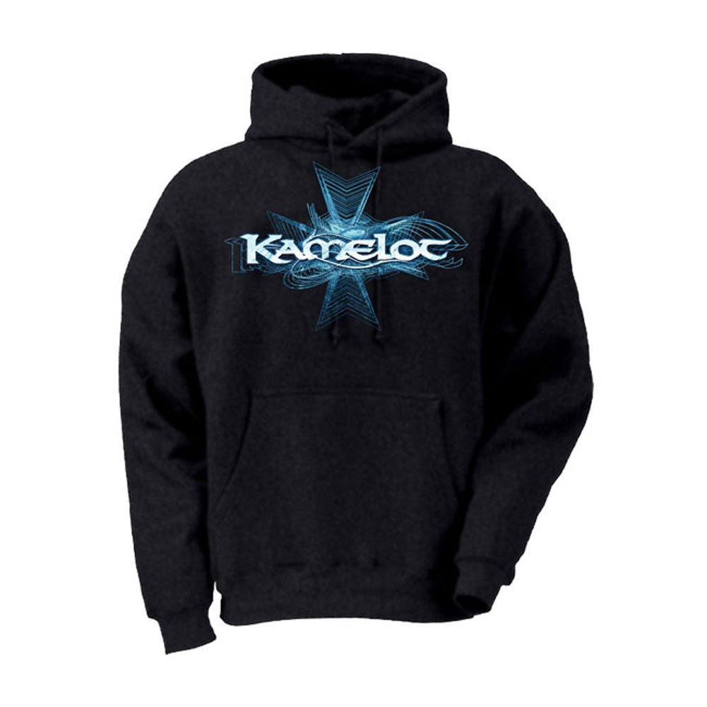 KAMELOT - Herren Blau Logo Pullover Hoodie