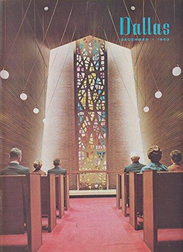 Dallas Magazine Southland's Center Chapel in the Sky cover (December ()