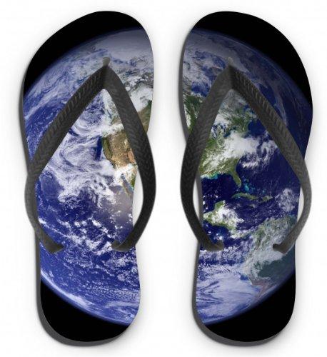 Flip Flops Motiv Erde Größe L (41-43)