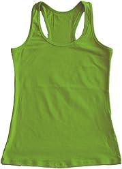 0737fd59147 Stretch is Comfort Women s Teamwear Cotton Racerback Tank Top