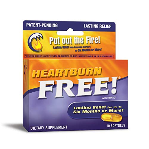 Enzymatic Therapy Heartburn Free!, Capsules 10ea