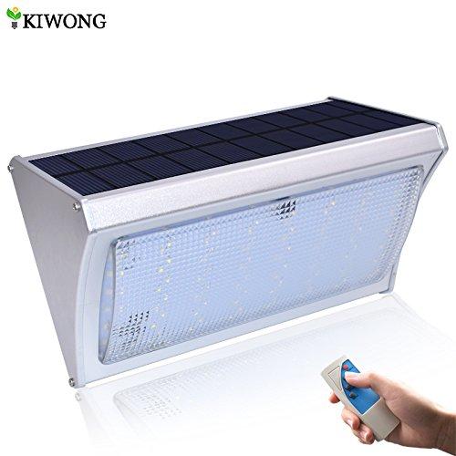Luz solar brillante de 800 lm, 56 LED, sensor de movimiento ...