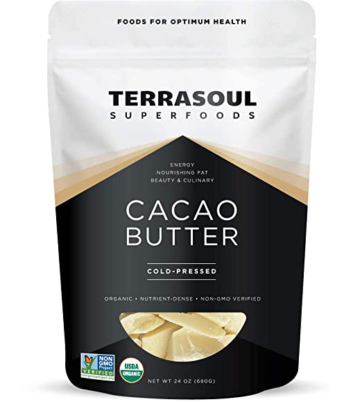 Terrasoul Superfoods Organic Cacao Butter