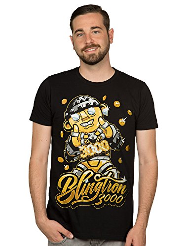 JINX Hearthstone Men's Blingtron 3000 Premium Cotton T-Shirt
