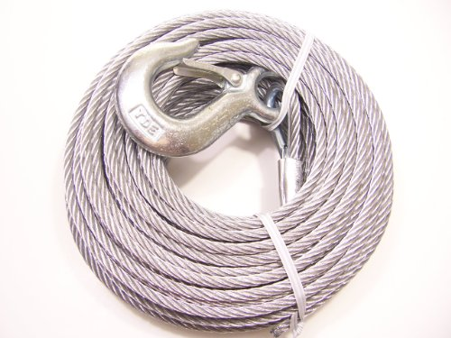 "Tie Down 59405 1/4"" x 120' Winch Cable"
