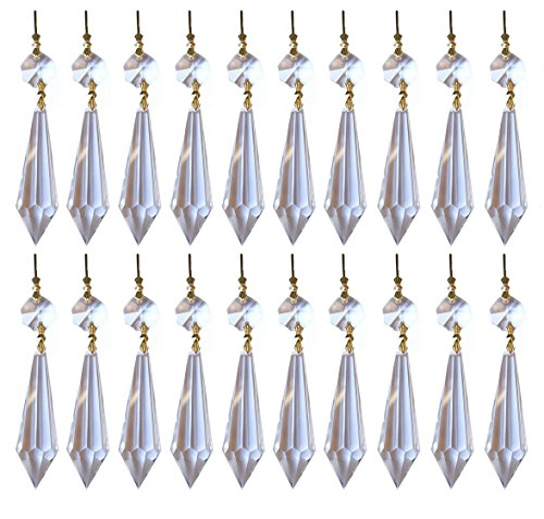 Yueton Crystal Chandelier Pendants Connectors