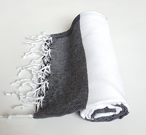 Turkish Towel Peshtemal 100 Percent Cotton for Beach Bath Sw