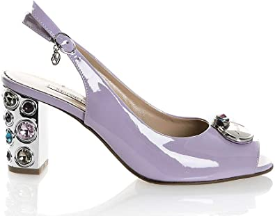 Marino Fabiani Lavender Leather