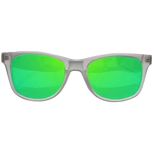 Gafas De Sol Fans, CustomEyes, Polarizadas, Frosted White: Amazon.es: Ropa y accesorios