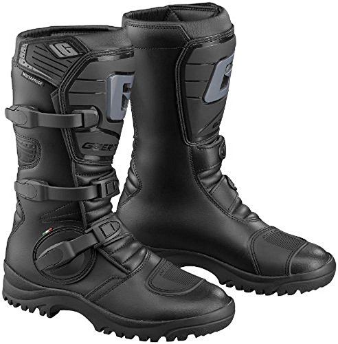 Gaerne Mens G-Adventure Motorcycle Boots Black 8 for sale  Delivered anywhere in USA