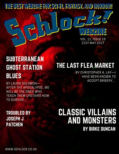 Schlock! Webzine Vol 11, Issue 15