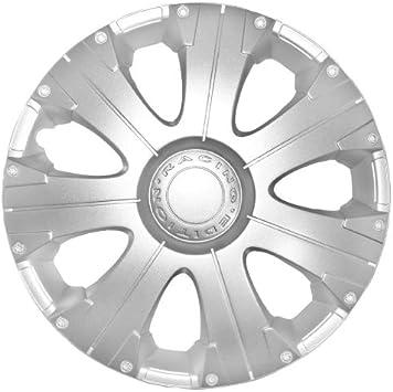 Petex Rb522215 Radzierblende Racing Größe 15 Zoll 1 Fach Lackiert Material Abs In Box Silber 4 Er Set Auto