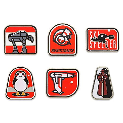 Star Wars -The Last Jedi - Booster Pin Set
