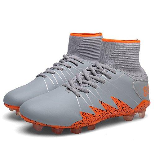 Xing Lin Zapatos De Fútbol Zapatos De Fútbol Picos De Nuevo Para Ayudar A Los Hombres Del Fútbol Zapatos Suaves Y Cómodos Slip Resistentes Al Desgaste Y Anti-Lento Lime