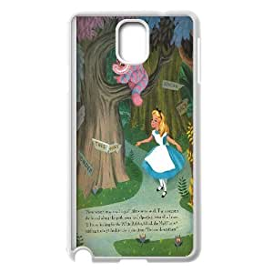 Yo-Lin case IKAI0446680Alice in Wonderland For Samsung Galaxy NOTE4 Case Cover