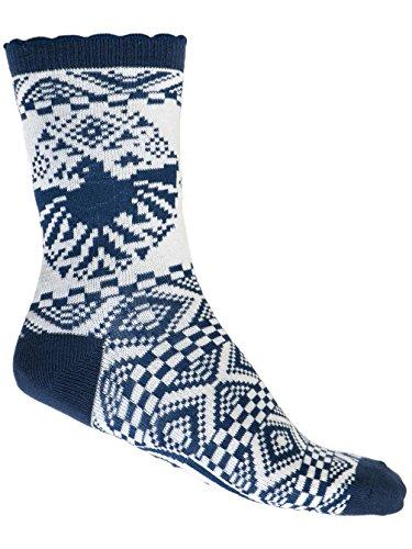 Animal Womens May Nala Nordic Print Socks - 5.5-8.5US Yjf6UL9ux
