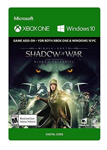 Middle-Earth: Shadow Of War - The Blade Of Galadriel Story Expansion - Xbox One / Windows 10 [Digital Code] by Warner Brothers