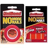 Unibond No More Nails Permanent Roll and Permanent Strips Bundle