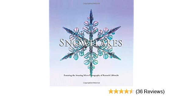 Snowflakes: Kenneth Libbrecht: 9780760334980: Amazon com: Books