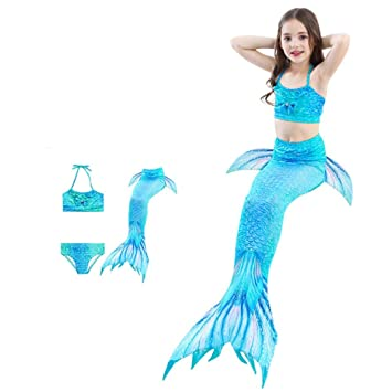 Bikini ajustable para nadar Cola De Sirena Para Natación ...