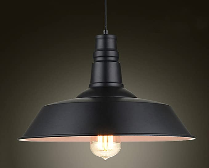 Illuminazione Per Abat Jour : Vintage illumina ciondolo loft ciondolo lampada retrò lampadario