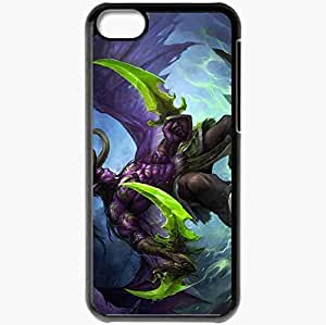 Personalized Case For Ipod Touch 5 Cover Cell phone Skin Art Weapon Horn Magic Black