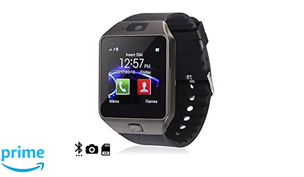 DAM TEKKIWEAR. Smartwatch Ártemis BT Black con SIM, cámara y ...