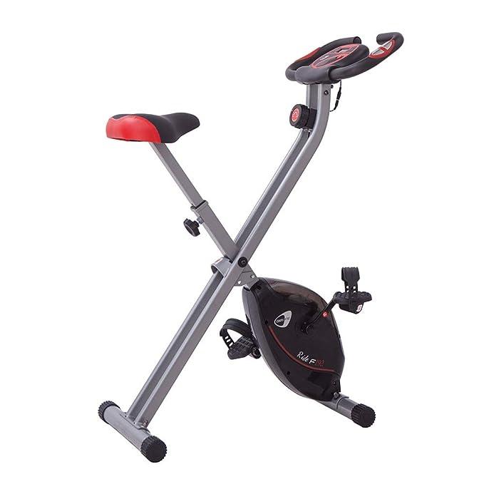 Bicicleta estática Manual Plegable 8 Niveles 100 kg MAX GETFIT ...