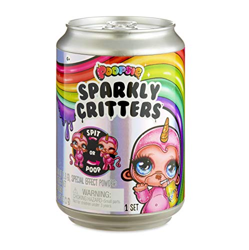 Poopsie Sparkly Critters That Magically Poop or Spit Slime
