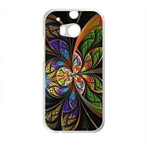 Artistic aesthetic fractal fashion phone case for HTC One M8
