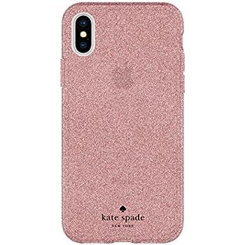 7e132902c137 kate spade new york Flexible Glitter Case for iPhone X - Rose Gold Glitter