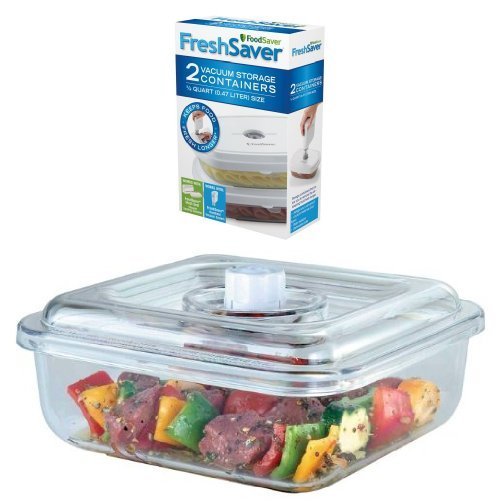 FoodSaver Deli Containers and Quick Marinator Bundle
