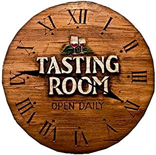 product image for Piazza Pisano Wine Tasting Room Wall Clock