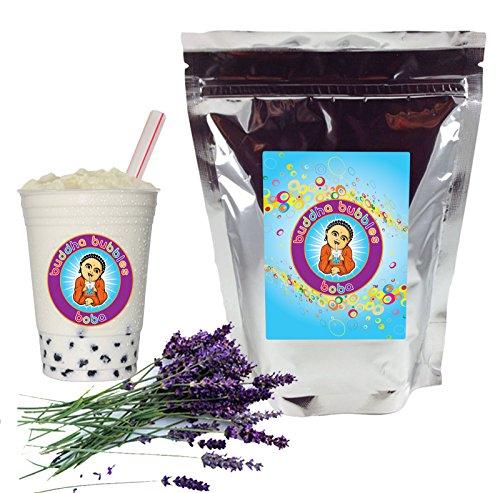 Lavender Boba / Bubble Tea Drink Mix Powder By Buddha Bubbles Boba 1 Kilo (2.2 Pounds) | (1000 Grams)