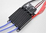 HobbyKing TURNIGY K-Force 120A-HV OPTO V2 5-12S Brushless ESC / Output: Continuous 120A, burst 180A up to 10 seconds.